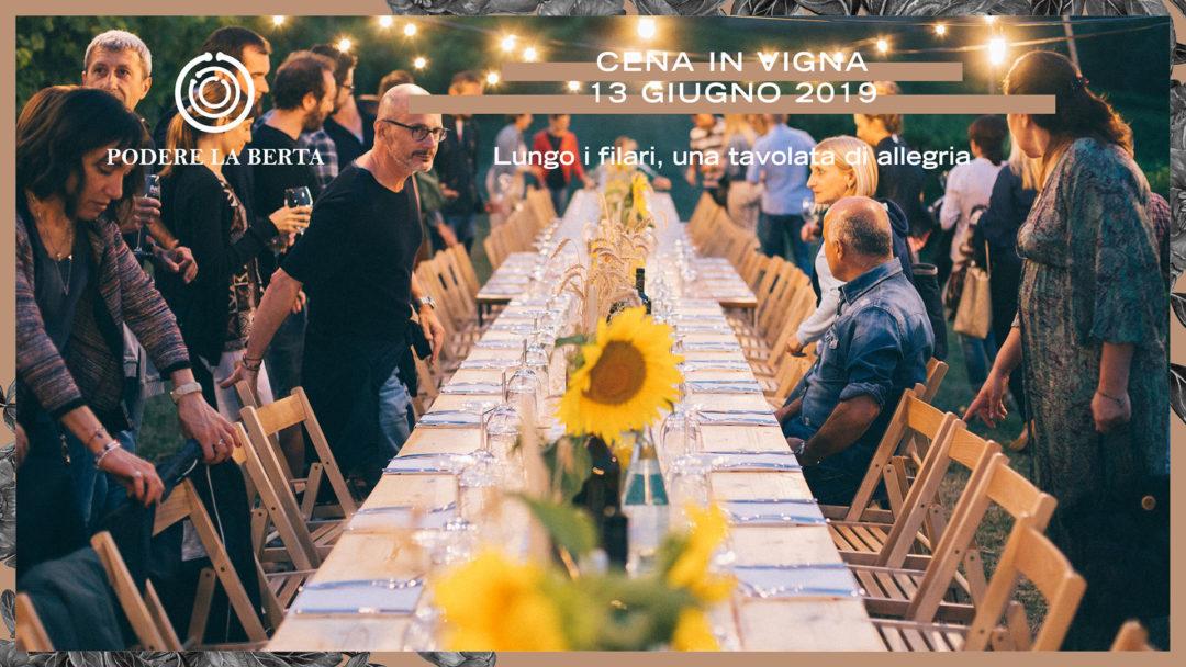 Cena in Vigna – 13 giugno