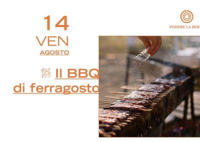 14 agosto – Il barbecue di Ferragosto