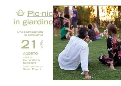 21 Agosto – Picnic