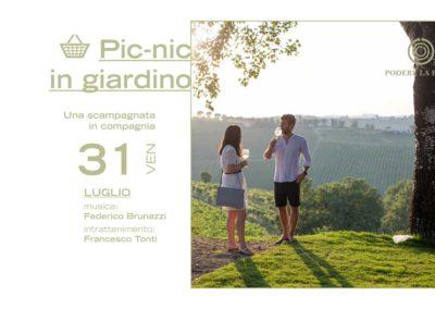 31 luglio – Picnic