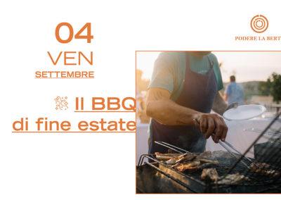 4 Settembre – Il Barbecue di fine estate