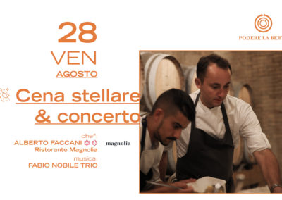 28 Agosto – Cena a 4 mani & Concerto