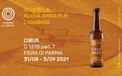 Le Birre PLB a Cibus… con una novità: CASABASE